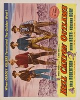 Hell Canyon Outlaws movie poster (1957) picture MOV_11a51e6d