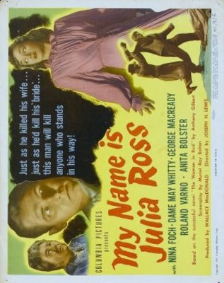 My Name Is Julia Ross movie poster (1945) poster MOV_1287cef7