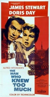 The Man Who Knew Too Much movie poster (1956) picture MOV_1287edaa