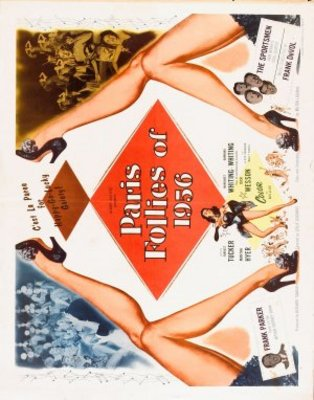 Paris Follies of 1956 movie poster (1955) poster MOV_12c197e3