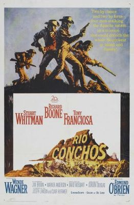 Rio Conchos movie poster (1964) poster MOV_12c8426e