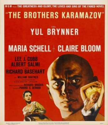 The Brothers Karamazov movie poster (1958) poster MOV_1309a30f
