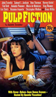 Pulp Fiction movie poster (1994) poster MOV_134ee481