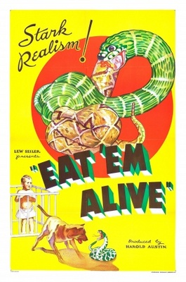 Eat 'Em Alive movie poster (1933) poster MOV_1359b269