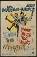 You're Never Too Young movie poster (1955) picture MOV_136e1c00