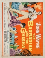 The Barbarian and the Geisha movie poster (1958) picture MOV_13784f02