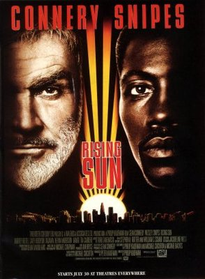 Rising Sun movie poster (1993) poster MOV_1389e62d