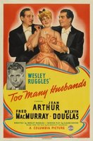 Too Many Husbands movie poster (1940) picture MOV_13cf4060
