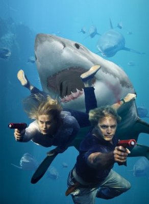 Shark Swarm movie poster (2008) poster MOV_13da21a4