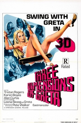 Four Dimensions of Greta movie poster (1972) poster MOV_13eac62f