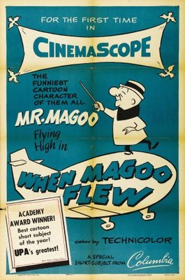 When Magoo Flew movie poster (1954) poster MOV_13eb1d4d