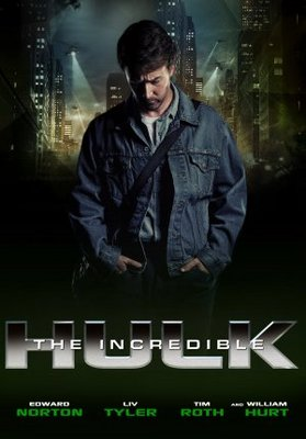 The Incredible Hulk movie poster (2008) poster MOV_13f3e81d