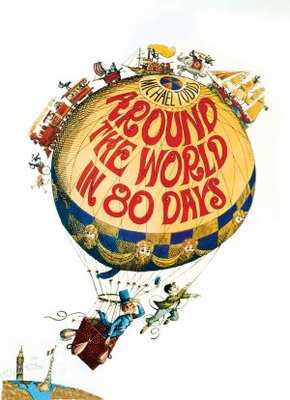 Around the World in Eighty Days movie poster (1956) poster MOV_14323d8b