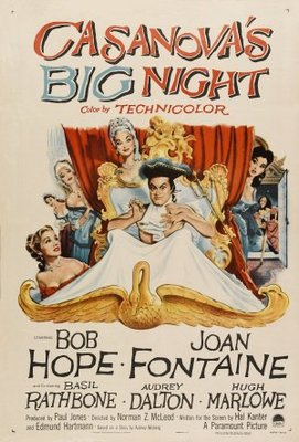 Casanova's Big Night movie poster (1954) poster MOV_1434edbb