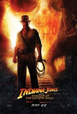 Indiana Jones and the Kingdom of the Crystal Skull movie poster (2008) poster MOV_14356a8e