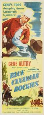 Blue Canadian Rockies movie poster (1952) poster MOV_1442797a