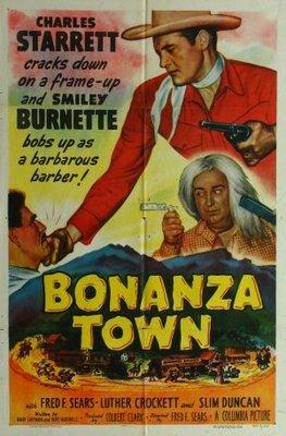 Bonanza Town movie poster (1951) poster MOV_1456ff2d
