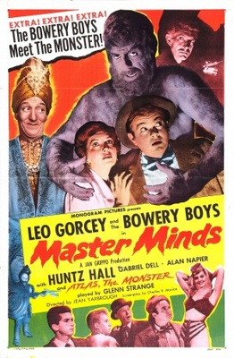 Master Minds movie poster (1949) poster MOV_145b9757