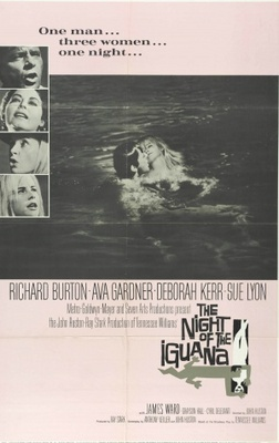 The Night of the Iguana movie poster (1964) poster MOV_14605511