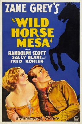 Wild Horse Mesa movie poster (1932) poster MOV_146d0b63