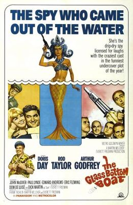 The Glass Bottom Boat movie poster (1966) poster MOV_148071e5