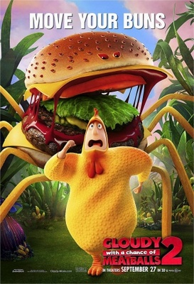 Cloudy with a Chance of Meatballs 2 movie poster (2013) poster MOV_14c37858