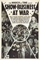 Show-Business at War movie poster (1943) picture MOV_14ccb4a0