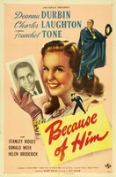 Because of Him movie poster (1946) picture MOV_53dc70a1