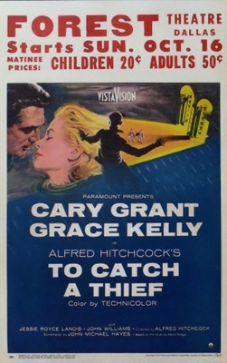 To Catch a Thief movie poster (1955) poster MOV_15092243