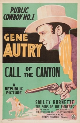 Call of the Canyon movie poster (1942) poster MOV_15270b9d