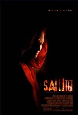 Saw III movie poster (2006) poster MOV_15468e86