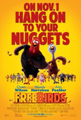 Free Birds movie poster (2013) poster MOV_1546bea9