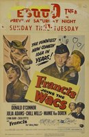 Francis Joins the WACS movie poster (1954) picture MOV_15585caa