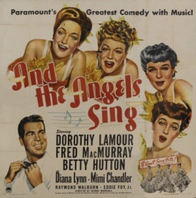 And the Angels Sing movie poster (1944) poster MOV_157a9e9e