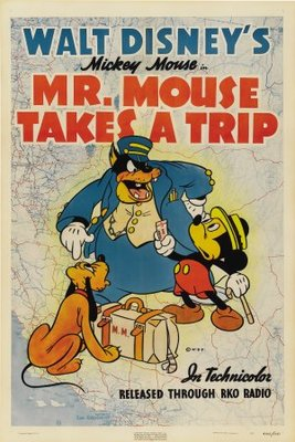 Mr. Mouse Takes a Trip movie poster (1940) poster MOV_157fe000