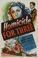 Homicide for Three movie poster (1948) picture MOV_15820132