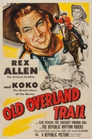 Old Overland Trail movie poster (1953) picture MOV_15891e4b
