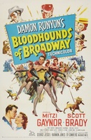 Bloodhounds of Broadway movie poster (1952) picture MOV_158f17be