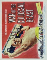 War of the Colossal Beast movie poster (1958) picture MOV_15c10435