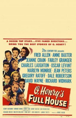 O. Henry's Full House movie poster (1952) poster MOV_15c9c797