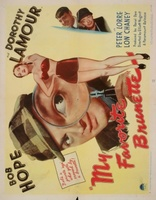 My Favorite Brunette movie poster (1947) picture MOV_15cba4d5