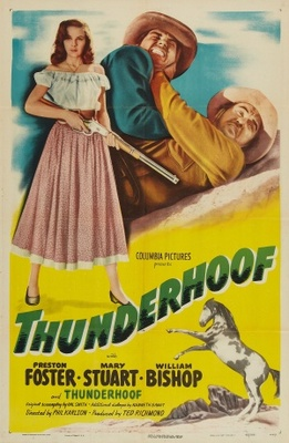Thunderhoof movie poster (1948) poster MOV_15ebef14