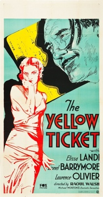The Yellow Ticket movie poster (1931) poster MOV_15eda3ae