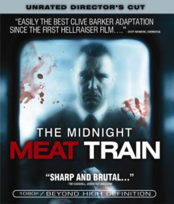 The Midnight Meat Train movie poster (2008) poster MOV_15f9720f