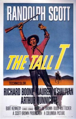 The Tall T movie poster (1957) poster MOV_15f9d13d