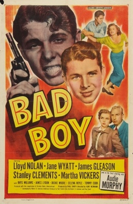 Bad Boy movie poster (1949) poster MOV_16086da6