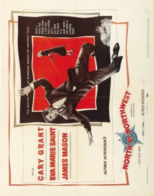 North by Northwest movie poster (1959) poster MOV_162dda30
