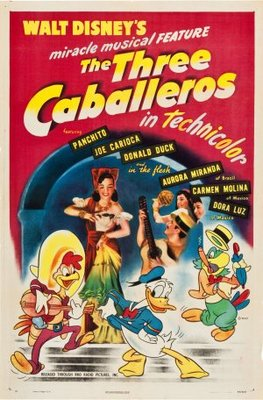 The Three Caballeros movie poster (1944) poster MOV_1638b549