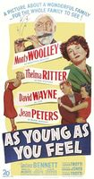As Young as You Feel movie poster (1951) picture MOV_1638fe7a