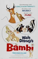 Bambi movie poster (1942) picture MOV_1640a87a